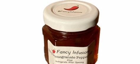 Spicy Pomegranate Pepper Jelly