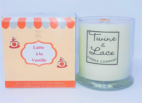 Latte à la vanille