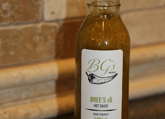 Bree's x 6 Hot Sauce