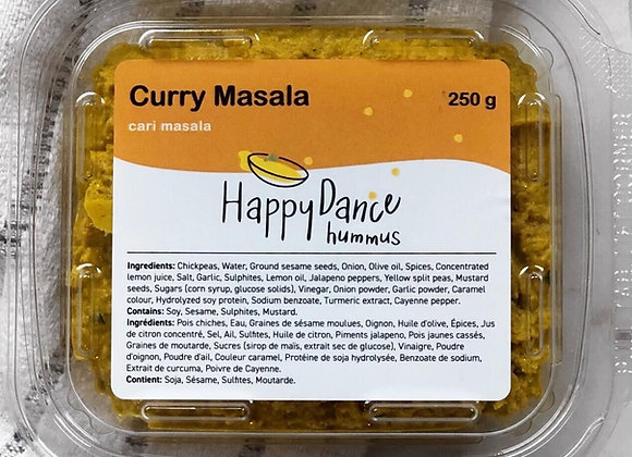 Curry Masala Hummus