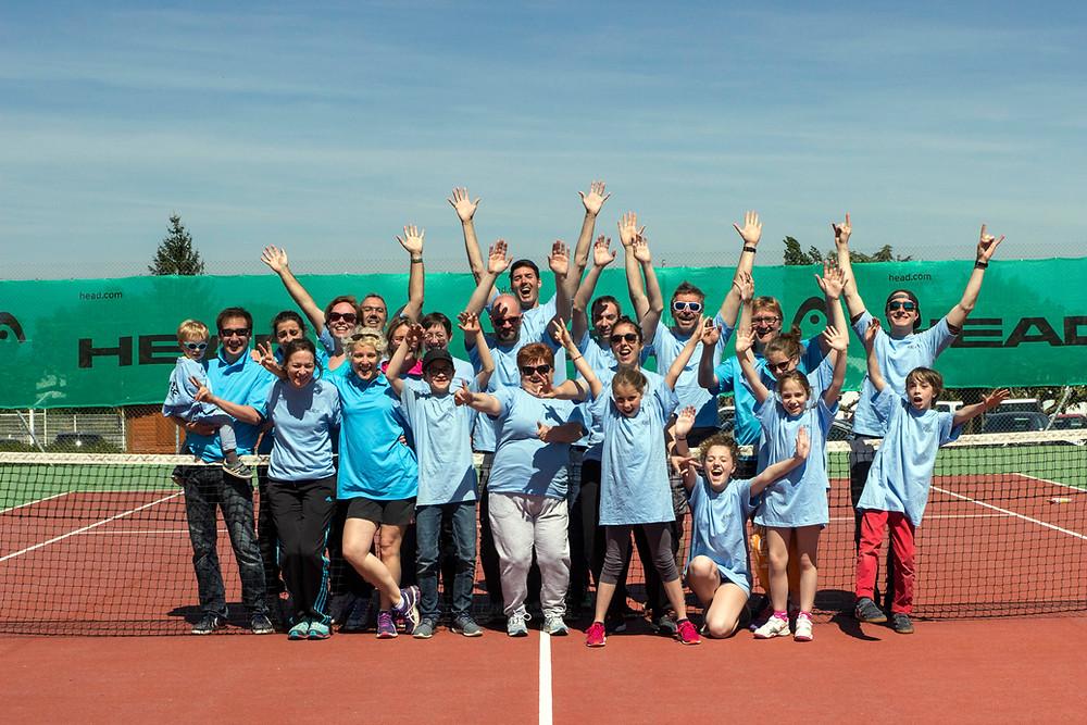 membres du stade niortais tennis