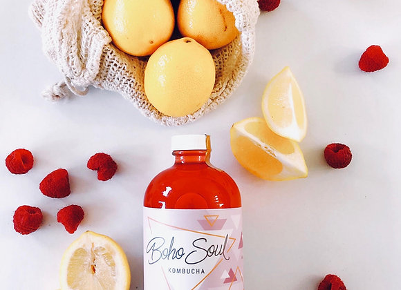 Raspberry Lemon Kombucha