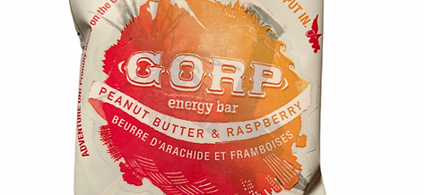 Peanut Butter & Raspberry Energy Bar