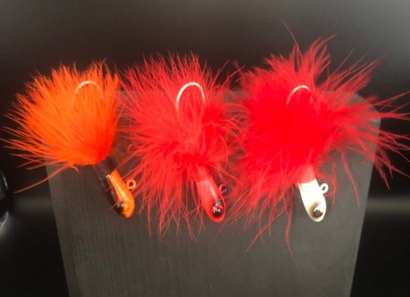 Marabou Fish-Head Jig