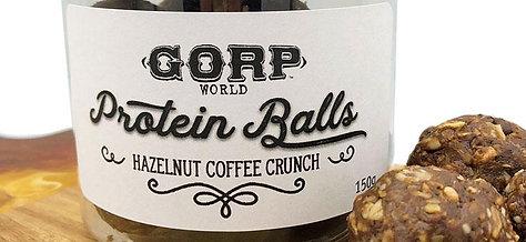 Hazelnut Coffee Crunch Protein Balls
