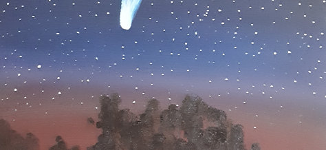 View Of A Comet