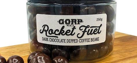 Rocket Fuel - Dark Chocolate Dipped Coffee Beans