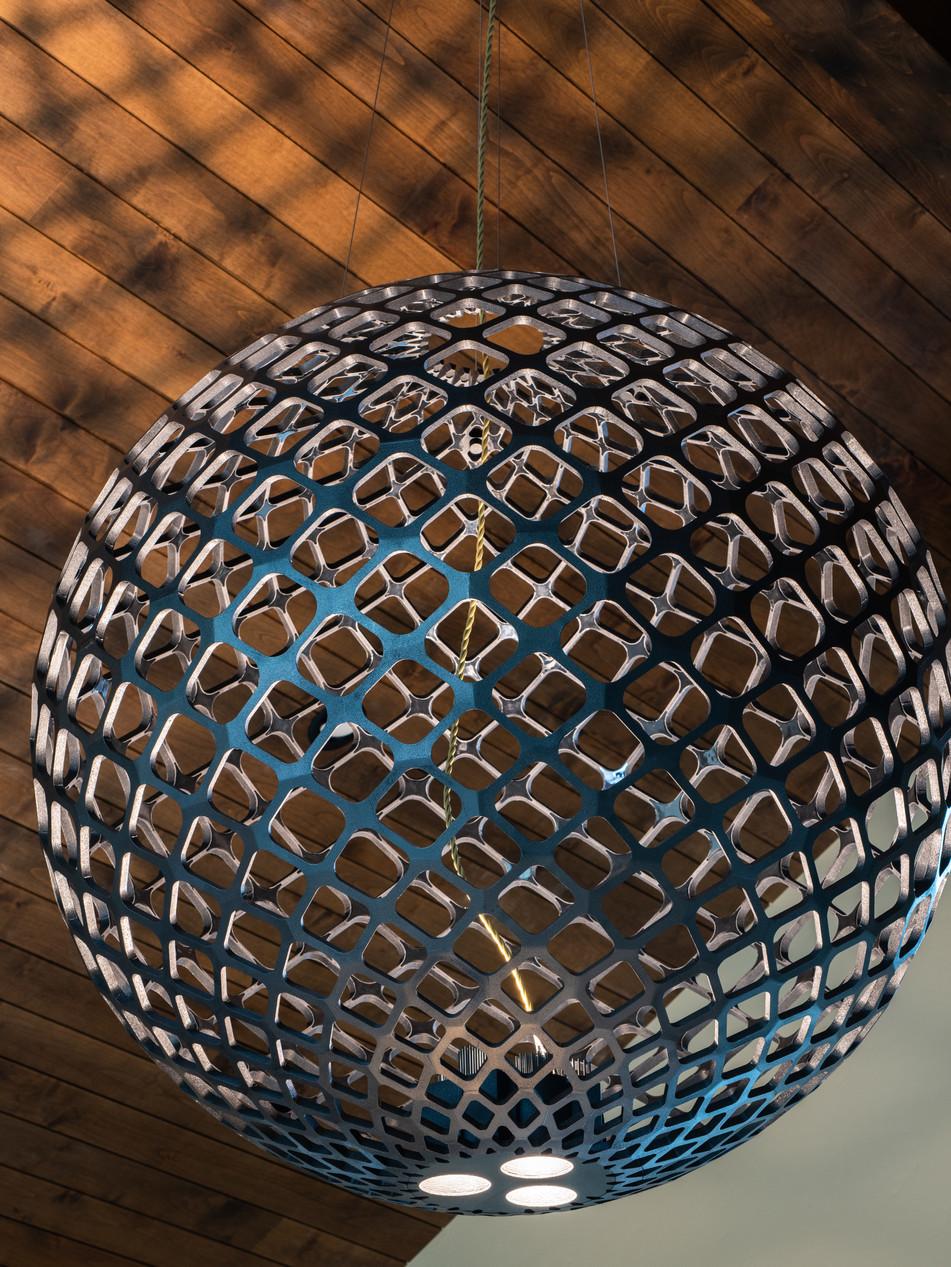 "48"" DIAMETER 3D PRINTED FIXTURE - BEND"
