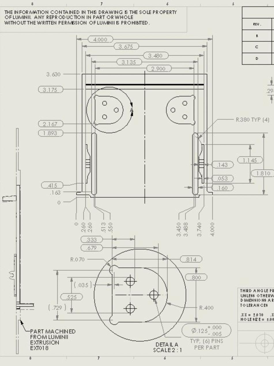 MACHINED PART DESIGN