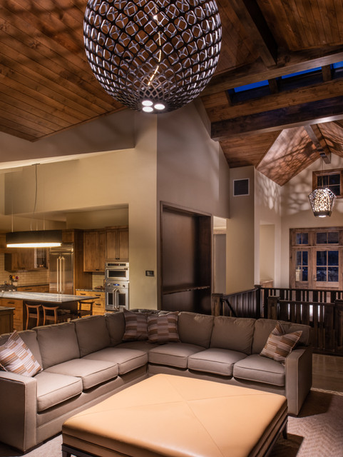 RESIDENCE WITH CUSTOM FIXTURES - BEND
