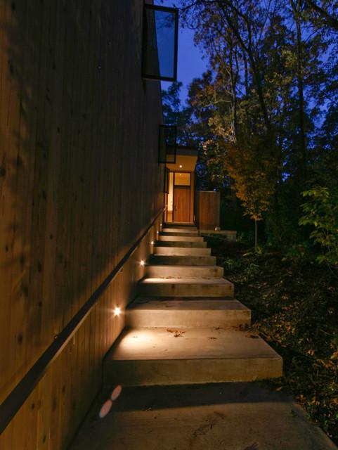 EXTERIOR STAIR LIGHTING