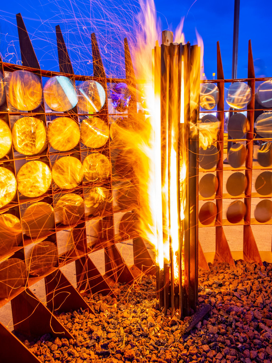 COLLIMATE WOOD FIRE