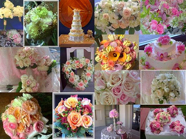 Beautiful romantic flowers for you wedding day.