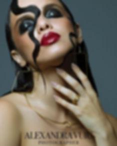 Maquillaje beauty modelo escultura