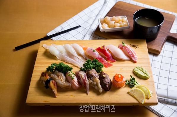 초밥프랜차이즈 스시웨이