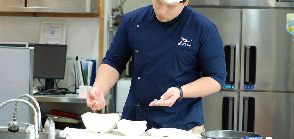 초밥 연마