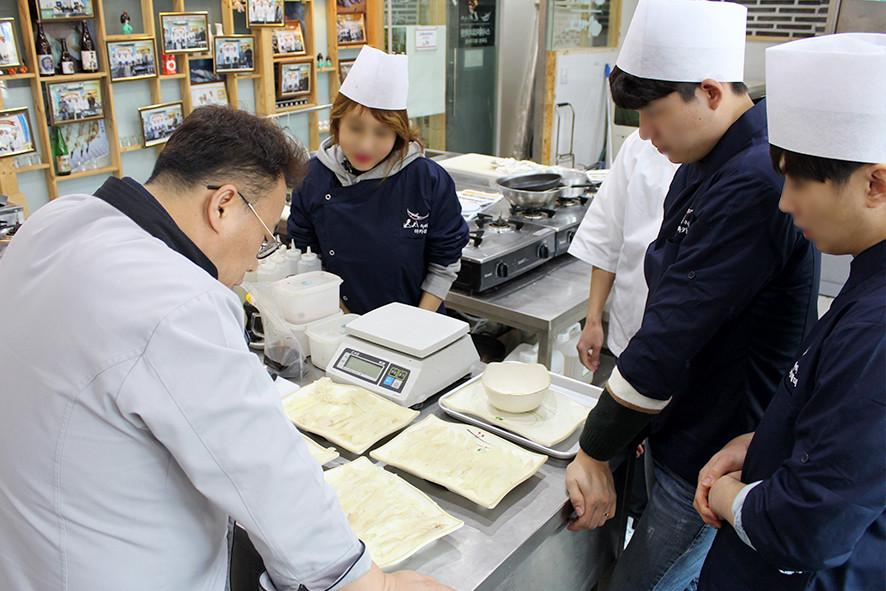 오로시&스시 연마 테스트