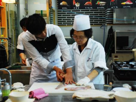 스시웨이, 요리학원 통한 창업 적극 지원