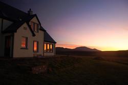 Sunset on Bae Seren