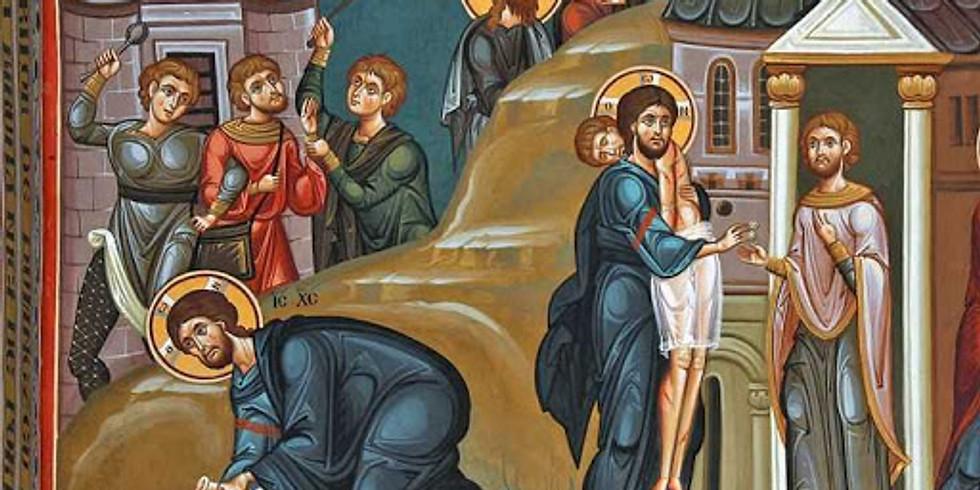 Slujba Tainei Sfantului Maslu