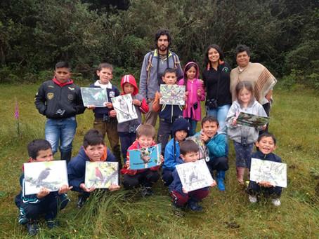 Environmental Week at the Rural School in Aguadulce