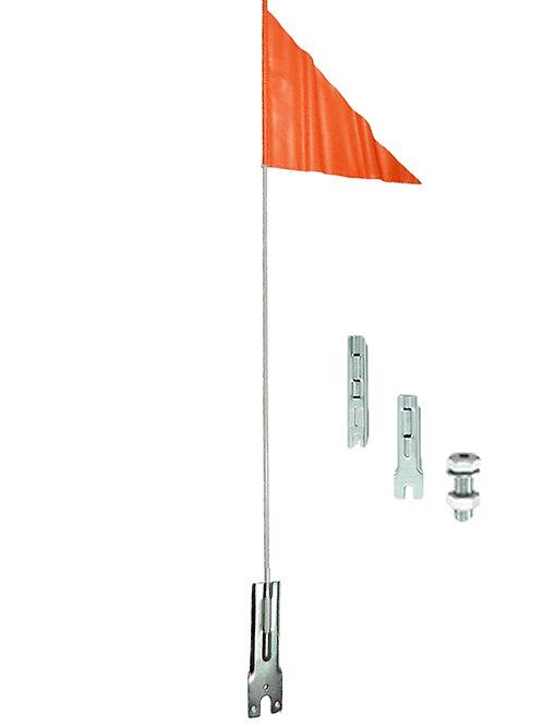 KS-800 Single Piece Fiberglass Rod Flagpole