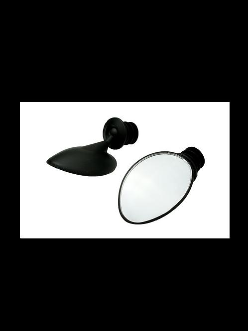 KS-127 360°可調式橢圓手把後照鏡