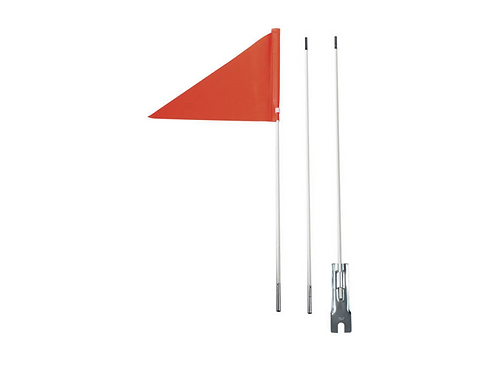KS-803 Three Pieces Fiberglass Rod Flagpole