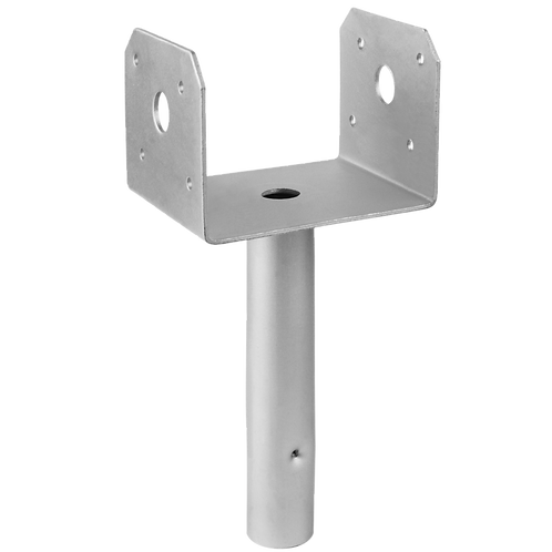 12-Gauge 4x4 Gray Pier Bracket