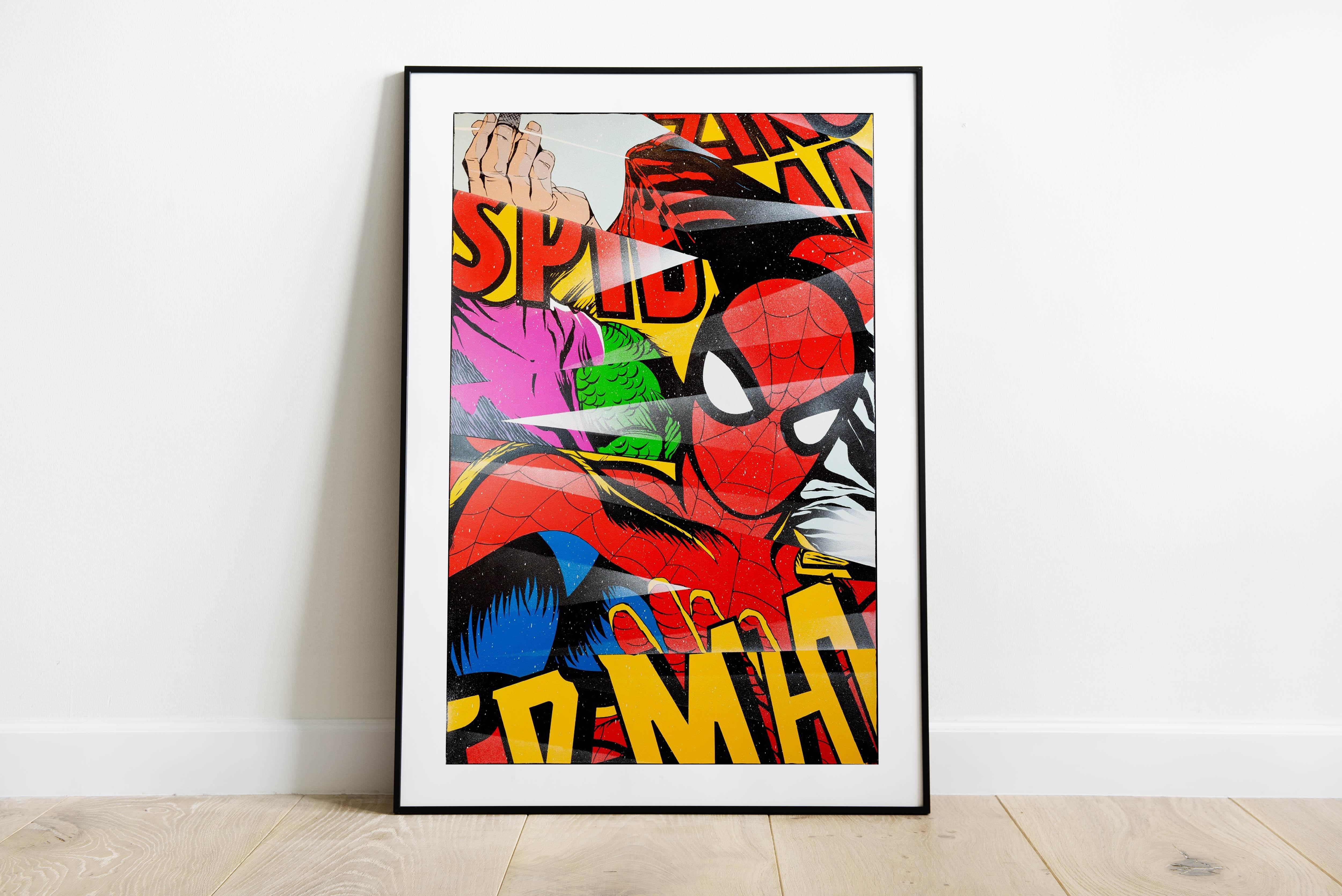 Spiderman Print In Situ