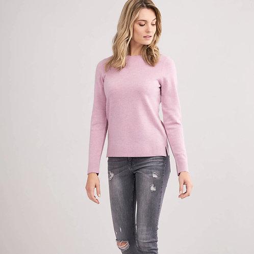 Pull Roun-Neck Pink