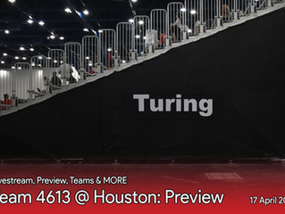 4613 @ Turing - Houston: Preview
