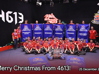 Merry Christmas from Team 4613!