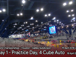 Houston Day 1 - Practice Day