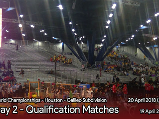 Day 2 - Qualification Matches
