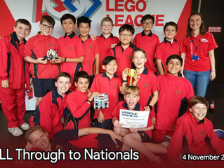 FLL Team Through to Nationals