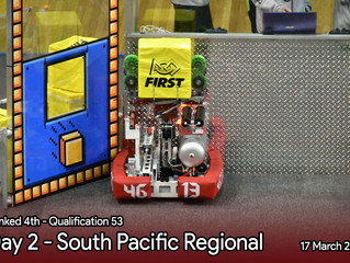 Day 2 - South Pacific Regional