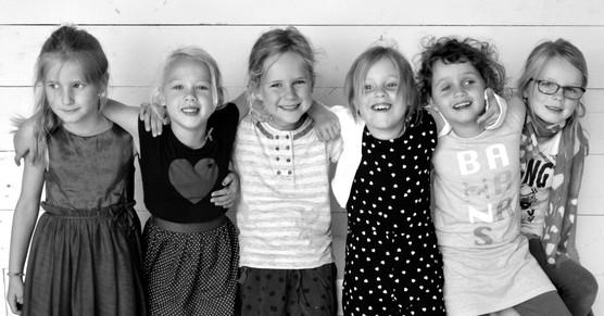 De meisjes van groep 2
