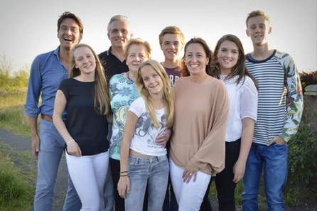 Familie Janssen - van der Maas