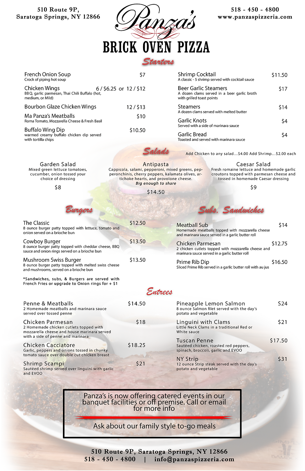 Menu Dinner Only 2020-24-19 with prime r