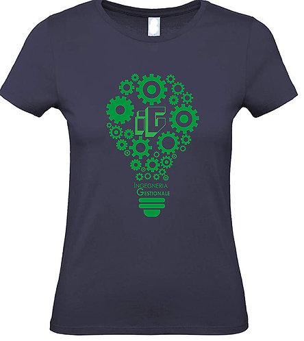 T-shirt donna con logo IG