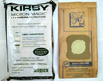 KIRBY HEPA BAGS  9 PACK  197301A