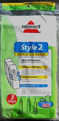 ShimBissell Style 1 Bag Enviro Fresh 3 Pack & 1 F