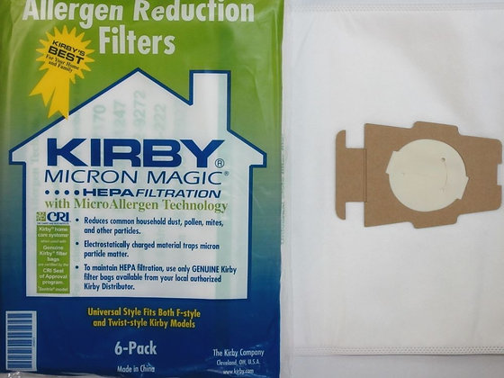 KIRBY SENTRIA F BAGS  6 PACK  205811G