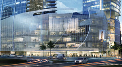 iSquare Mall + Hotel Entry