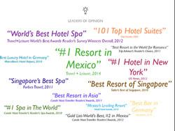 Capella Hotels No 1 spa