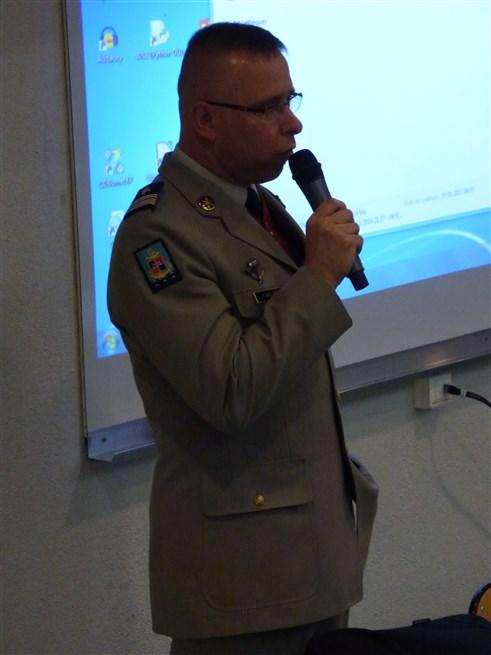 Intervention du Colonel Thomas MOLLARD CDC du 126RI et CDT de la BDD - 05-01-2017 - Photo 12