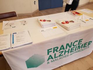 Une matinée pour les élèves de terminale SPVL du lycée Bahuet  avec l'association France Alzheimer