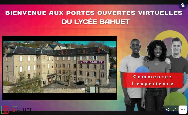 Portes ouvertes virtuelles du Lycée BAHU