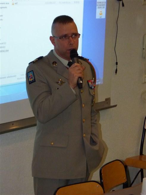 Intervention du Colonel Thomas MOLLARD CDC du 126RI et CDT de la BDD - 05-01-2017 - Photo 13